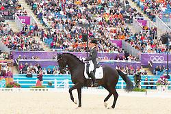 Barbancon Mastrets Morgan (ESP) - Painted Black<br /> Olympic Games London 2012<br /> © Dirk Caremans