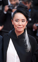 Director Naomi Kawase at the gala screening for the film The Unknown Girl (La Fille Inconnue) at the 69th Cannes Film Festival, Wednesday 18th May 2016, Cannes, France. Photography: Doreen Kennedy