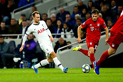 Christian Eriksen of Tottenham Hotspur - Rogan/JMP - 01/10/2019 - FOOTBALL - Tottenham Hotspur Stadium - London, England - Tottenham Hotspur v Bayern Munich - UEFA Champions League Group B.