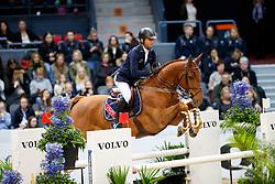 Lynch Denis, IRL, Echo de Laubry<br /> Gothenburg Horse Show FEI World Cups 2017<br /> © Hippo Foto - Stefan Lafrentz<br /> 24/02/17