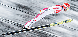 31.01.2016, Casino Arena, Seefeld, AUT, FIS Weltcup Nordische Kombination, Seefeld Triple, Skisprung, Wertungssprung, im Bild Johannes Rydzek (GER) // Johannes Rydzek of Germany competes during his Competition Jump of Skijumping of the FIS Nordic Combined World Cup Seefeld Triple at the Casino Arena in Seefeld, Austria on 2016/01/31. EXPA Pictures © 2016, PhotoCredit: EXPA/ JFK