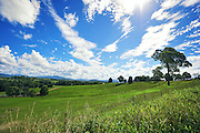 An Australian dairy farm in north east NSW.<br />