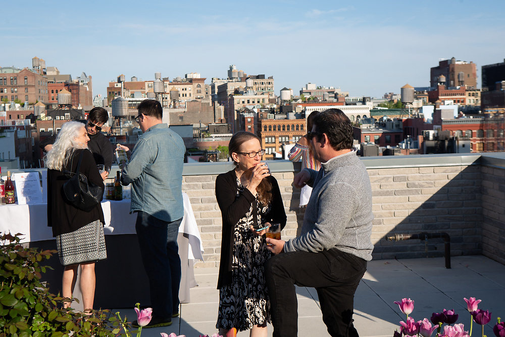 New York, NY - May 8, 2018:  Slow Food New York City honors Chef Michael Anthony as this year's Snailblazer at God's Love, We Deliver in SoHo.<br /> <br /> <br /> CREDIT: Clay Williams for Slow Food New York City.<br /> <br /> © Clay Williams / http://claywilliamsphoto.com