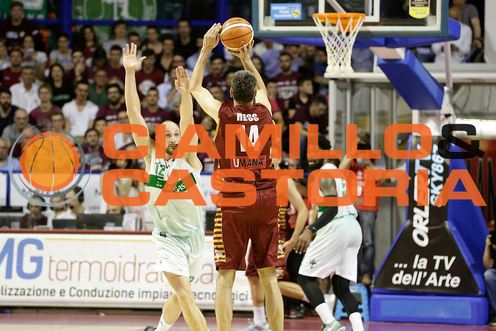 Tomas Ress<br /> Umana Reyer Venezia - Sidigas Scandone Avellino<br /> Lega Basket Serie A 2016/17 Semifinali Gara 01<br /> Venezia, 26/05/2017<br /> Foto Ciamillo-Castoria / M. Brondi