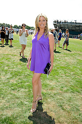 TINA HOBLEY at the Cartier International Polo at Guards Polo Club, Windsor Great Park on 27th July 2008.<br /> <br /> NON EXCLUSIVE - WORLD RIGHTS