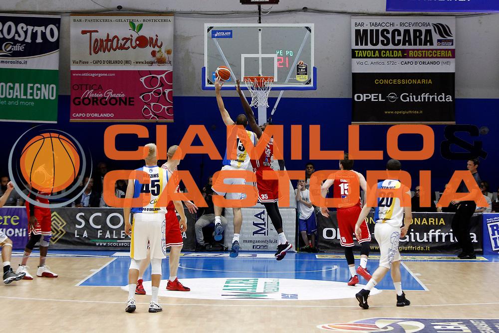 Mario Delas<br />Betaland Capo D'Orlando - Consultinvest Pesaro<br />Lega Basket Serie A 2016/2017 <br />Capo D'Orlando 07/05/2017<br />Foto Ciamillo-Castoria