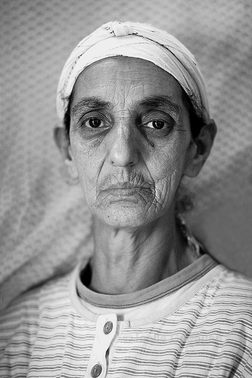 Saada, Portrait part of Story on Single Mothers in Morocco - Marrakesh  201 - Name has been changed to preserve the person's identity