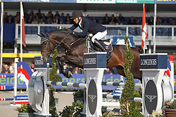 Corten Stefan, (BEL), Camirez Fz <br /> 5 years of age<br /> FEI World Breeding Jumping Championships<br /> Lanaken 2015<br /> © Hippo Foto - Dirk Caremans<br /> 20/09/15