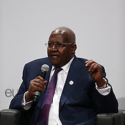03 June 2015 - Belgium - Brussels - European Development Days - EDD - Special Event - A more connected , contested and complex world is in your hands - A conversation with Federica Mogherini and Sam Kutesa - Sam Kutesa , President of the 69th United Nations General Assembly © European Union