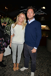 DAN & VICTORIA PHILIPSON at the Bluebird's End of Summer Party with Taylor Morris held at Bluebird, 350 King's Road, London on 29th September 2016.