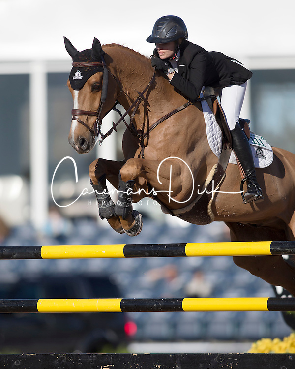 Foster Tiffany, (CAN), Southwind VDL<br /> CSI Wellington 2016<br /> © Hippo Foto - Cealy Tetly