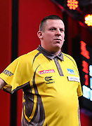 Dave Chisnall during the 2018 Players Championship Finals at Butlins Minehead, Minehead, United Kingdom on 23 November 2018.