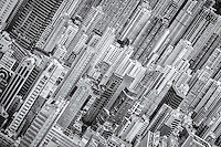 High density skyscrapers make a fabulous sight of Hong Kong.