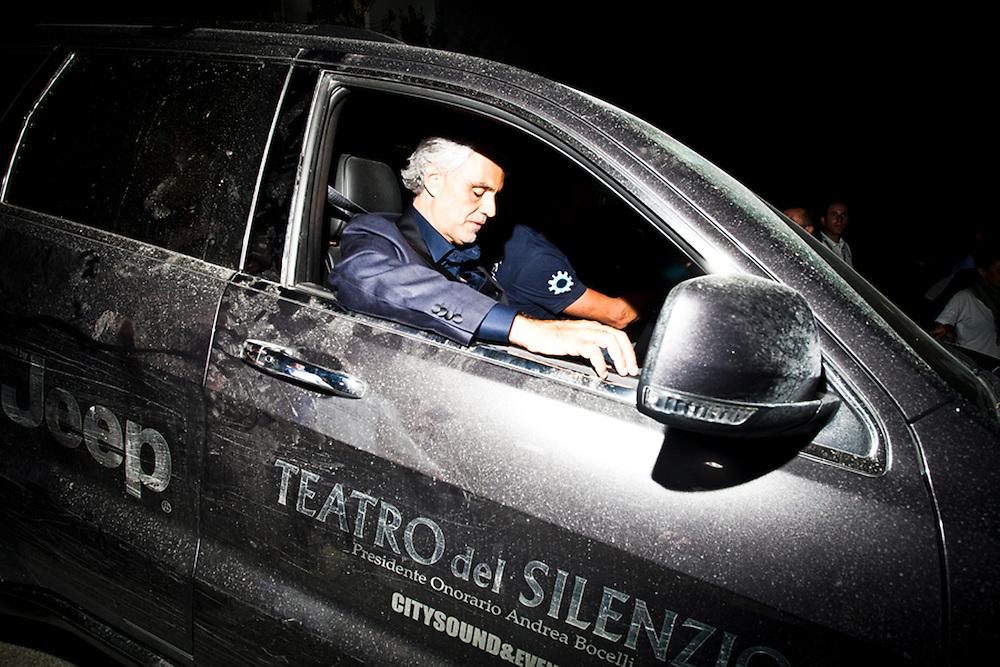 Andrea Bocelli Teatro del Silenzio - Lajatico, concerto Andrea Bocelli - Cliente Jeep