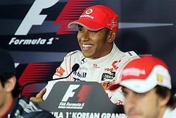 Motorsports / Formula 1: World Championship 2010, GP of Korea, 02 Lewis Hamilton (GBR, Vodafone McLaren Mercedes),