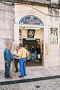 Ginjinha Espinheira stall, Largo de São Domingos, Lisbon
