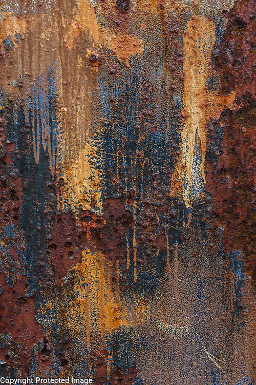 Rust Detail, Whaler's Bay, Deception Island, Anarctica  2014