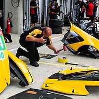 #64, Corvette Racing-GM, Chevrolet Corvette C7.R, LMGTE Pro, driven by: Oliver Gavin, Tommy Milner, Marcel Fassler, 24 Heures Du Mans  2018  Test, 02/06/2018,
