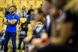 Ocvirk Tomaz head coach of RK Celje Pivovarna Lasko during handball match between RK Celje Pivovarna Lasko (SLO) and SG Flensburg Handewitt (GER) in 3rd Round of EHF Men's Champions League 2018/19, on September 30, 2018 in Arena Zlatorog, Celje, Slovenia. Photo by Grega Valancic / Sportida