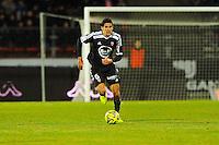 Francois BELLUGOU  - 04.03.2015 - Evian Thonon / Lorient - Match en retard de la 26eme journee de Ligue 1 <br />Photo : Jean Paul Thomas / Icon Sport