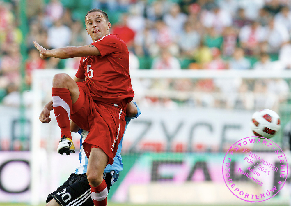 WARSZAWA 05/06/2011.FOOTBALL.INTERNATIONAL FRIENDLY.POLAND v ARGENTINA.DARIUSZ DUDKA /POL/.PHOTO BY: PIOTR HAWALEJ / WROFOTO