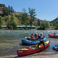 Rafting on the Minam and Wallowa Rivers (Minam Motel) in Minam, Oregon