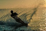 Water Skiing, Turks and Caicos