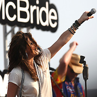 Country music superstar Martina McBride performs.