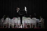 Voronia performed by La Veronal, Sadler's Wells Theatre, London UK, 19 October 2015, Photo by Richard Goldschmidt
