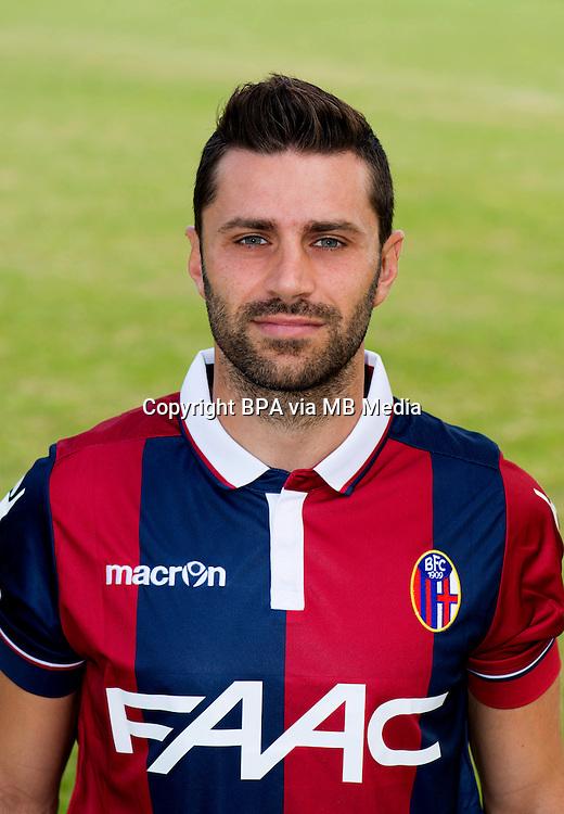 Italian League Serie A -2015-2016 / <br /> ( Bologna Fc 1909 ) -<br /> Archimede Morleo