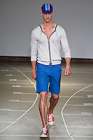A model walks the runway during Number Lab Spring 2011 during Mercedes Benz Fahsion Week in New York on September 9, 2010