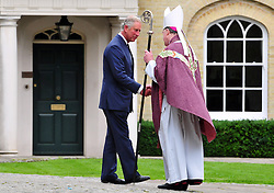 © Licensed to London News Pictures. 11/09/2013<br /> Leaving the Cathedral after the Mass.<br /> Funeral for Hugh Van Cutsem at Brentwood Cathedral,Essex.<br /> Prince of Wales,Duke of Cambridge and Prince Harry in attendance today (11.09.2013)<br /> Photo credit :Grant Falvey/LNP