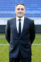 Laurent PERNET - 04.10.2014 - Photo officielle Sochaux - Ligue 2 2014/2015<br /> Photo : Icon Sport