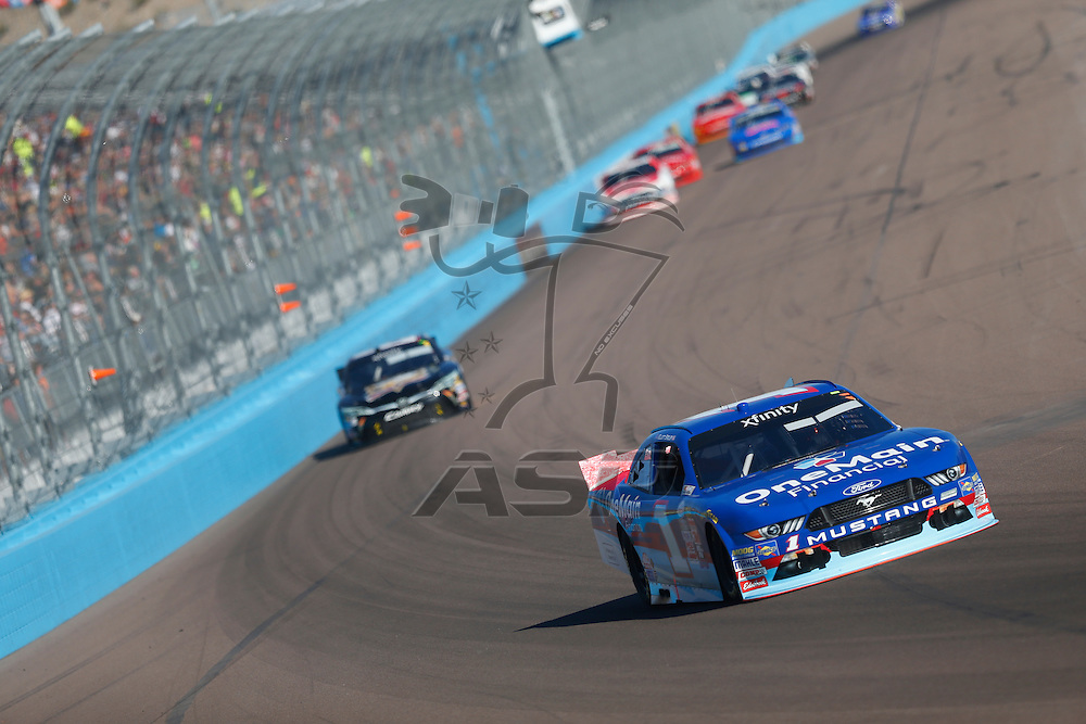Avondale, AZ - Nov 14, 2015:  The NASCAR Xfinity Series teams take to the track for the DAV 200 at Phoenix International Raceway in Avondale, AZ.