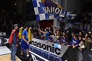 Martin Kelvin, Ultras, Tifosi, Spettatori, Pubblico<br /> Vanoli Cremona - Fiat Torino<br /> Legabasket serie A 2017/2018<br /> Cremona, 18/03/2018<br /> Foto GiulioCiamillo / Ciamillo-Castoria