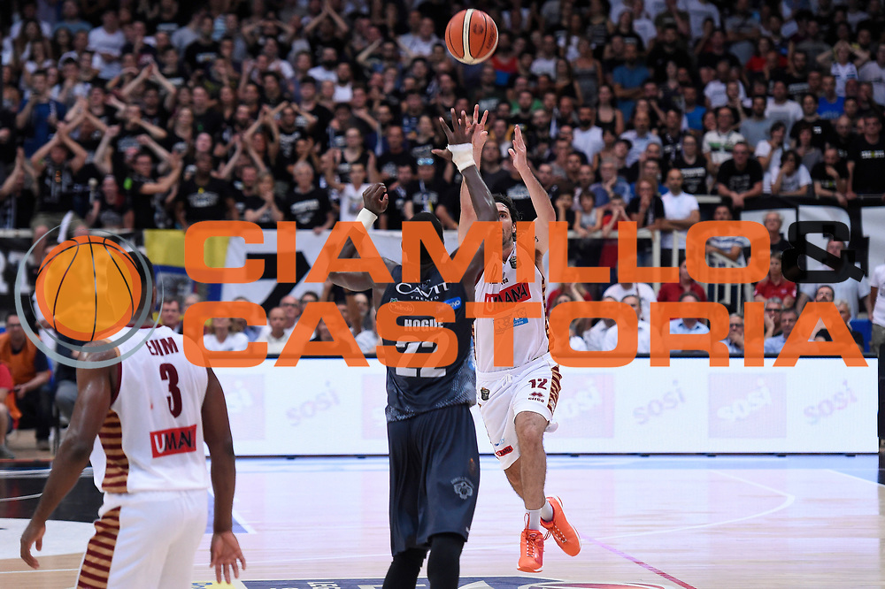Ariel Filloy<br /> Dolomiti Energia Aquila Basket Trento - Umana Reyer Venezia<br /> Lega Basket Serie A 2016/2017<br /> Playoff, finale gara 3<br /> Trento, 14/06/2017<br /> Foto M.Ceretti / Ciamillo-Castoria
