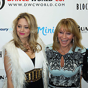London,England,UK : 28th April 2016 : Bonnie Lythgoe,John Grimshaw,Kimberly Wyatt attend the Kimberly Wyatt launches the 2016 annual BLOCH Dance World Cup at BLOCH, 35 Drury Lane, Covent Garden, London. Photo by See Li