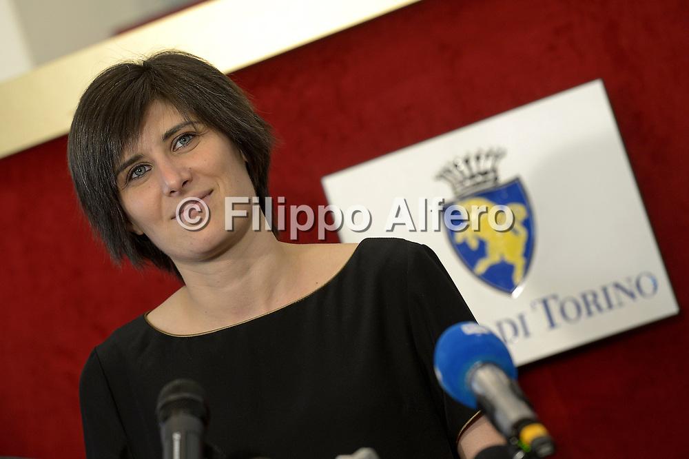 &copy; Filippo Alfero<br /> Conferenza stampa Chiara Appendino neo eletto Sindaco di Torino<br /> Torino, Municipio, 20/06/2016