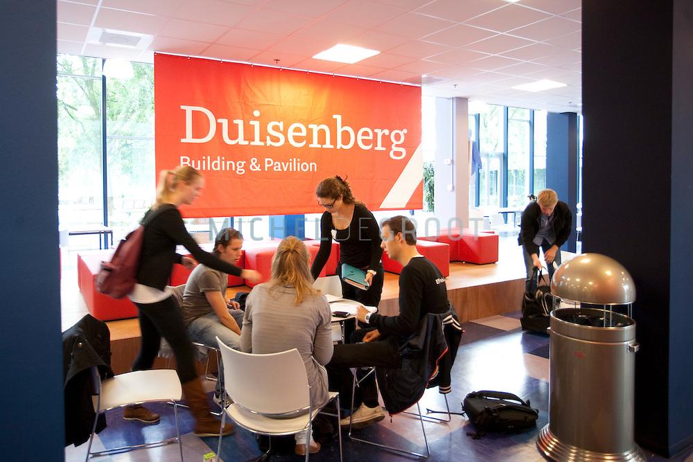 WSN - Duisenberg gebouw van de RuG, Groningen