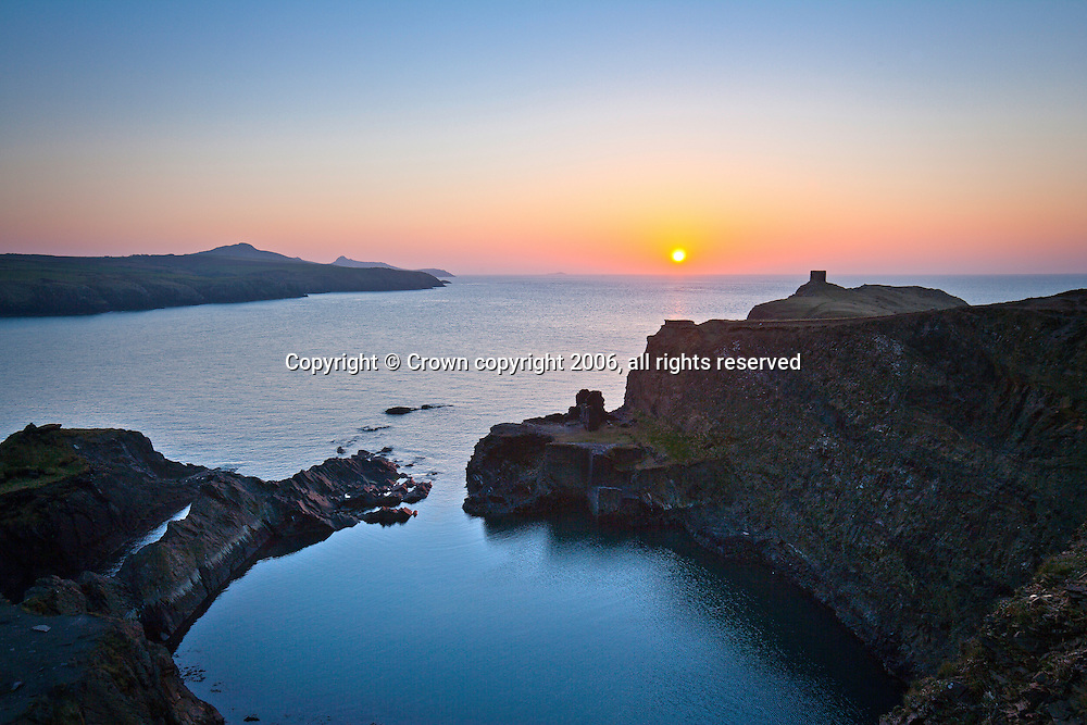 Blue Lagoon at sunset<br />