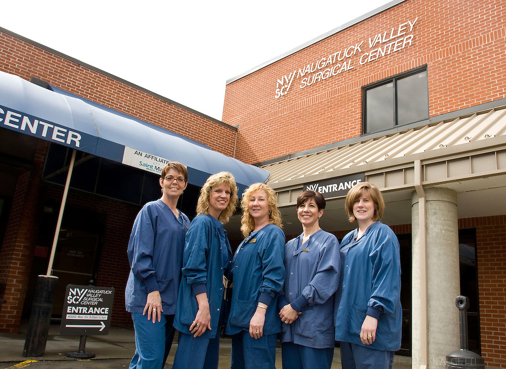March 30, 2009:  Nurses at NVSC include: Murielle Michaud, Cheryl Nordede, Joan Thompson, PACU supervisor, Terri Minnerat and Maureen Ashman.