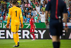 Raheem Sterling of England during the EURO 2016 Qualifier Group E match between Slovenia and England at SRC Stozice on June 14, 2015 in Ljubljana, Slovenia. Photo by Grega Valancic