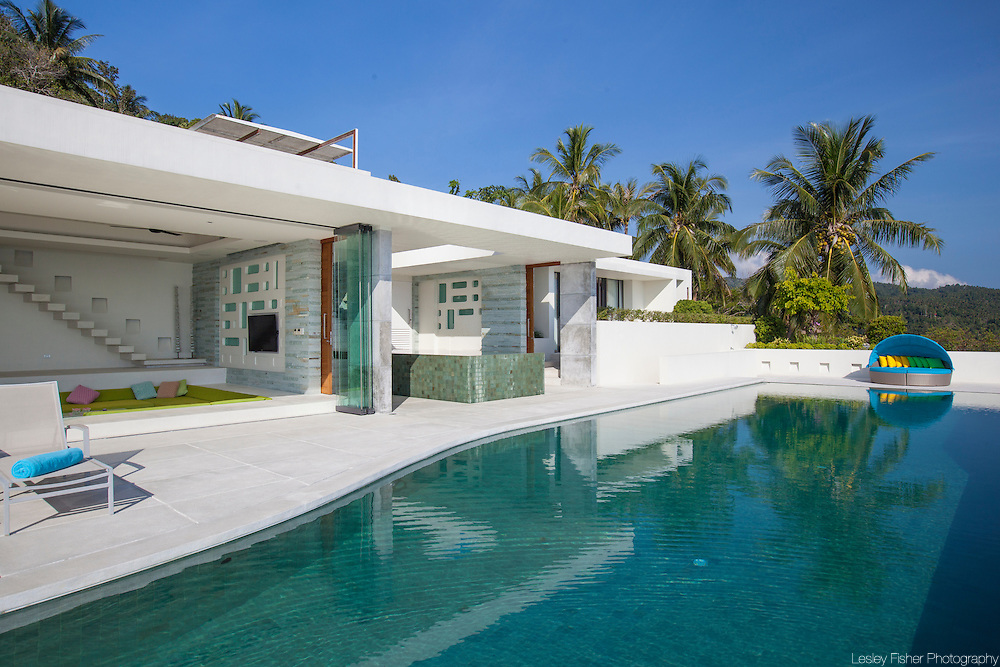 at Lime, luxury private, ocean view villas, Koh Samui, Surat Thani, Thailand