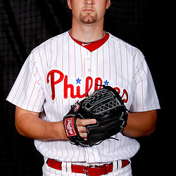 February 22, 2011; Clearwater, FL, USA; Philadelphia Phillies pitcher Ryan Feierabend (79) poses during photo day at Bright House Networks Field. Mandatory Credit: Derick E. Hingle