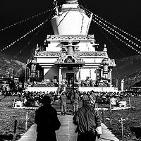 Prayer meetings. Bhutan