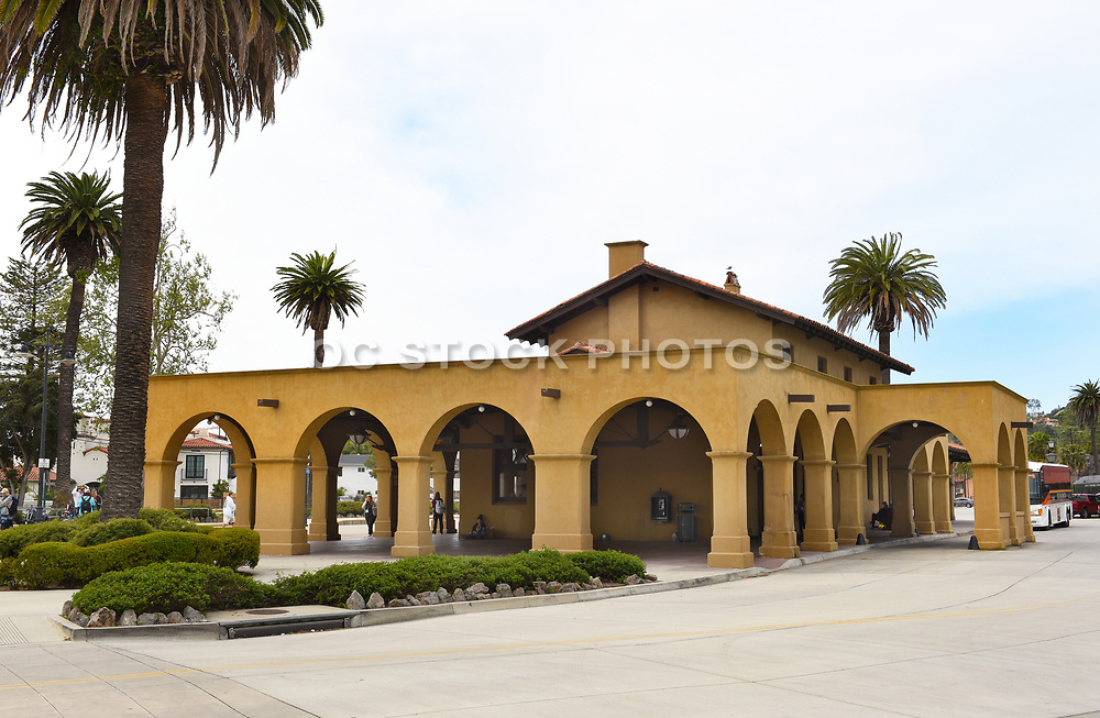 Amtrak Train Station in Santa Barbara