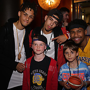 London,England,UK. 14th May 2017. X Factor's 5 After Midnight attends the after party of the BBL Play-Off Finals also fundraising for Hoops Aid 2017 but also a major fundraising opportunity for the Sports Traider Charity at London's O2 Arena, UK. by See Li