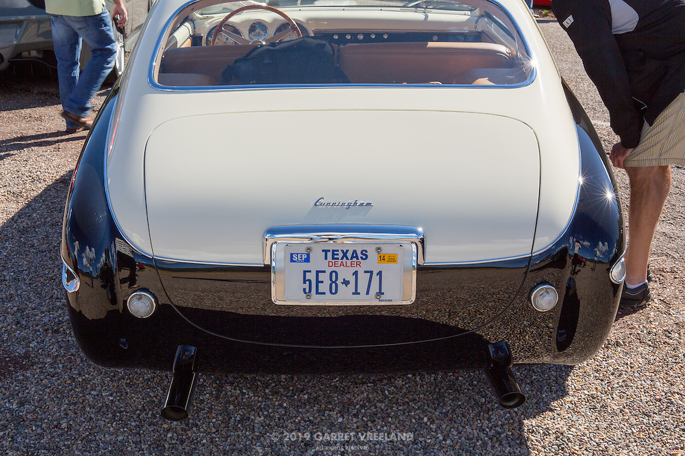 Trunk lid of the Cunningham C3 Prototype. 2012 Santa Fe Concorso High Mountain Tour.