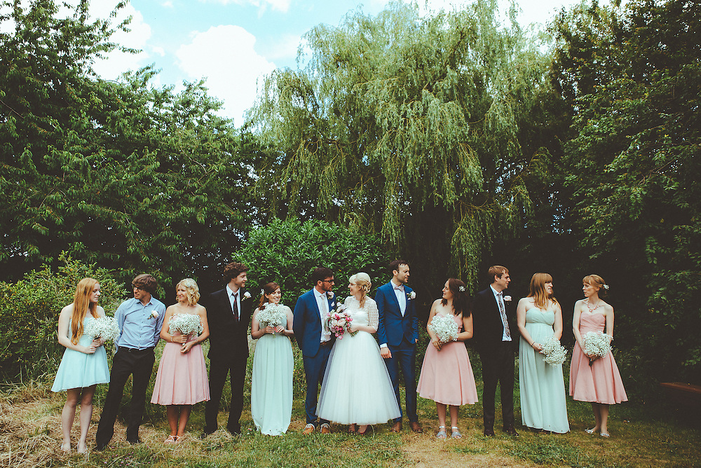 Rufus & Claire's Wedding, Wexley Garden Ceremony & Reception at Green Hammerton Village Hall, 4th July 2015