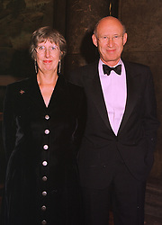 SIR THOMAS & LADY LEGG he is permanent Secretary, Lord Chancellor's Department, at a dinner in London on 6th October 1998.MKN 16